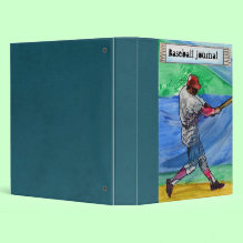 Dads Baseball Journal Binder - This binder is great for dads to keep all of the grand kids in it, the kids, or whatever else you can think of. This could make the perfect gift for father's day. Or even use it as a scrapbook for dad who coaches baseball.