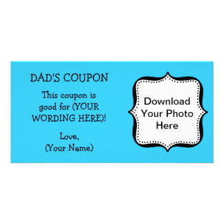 Dad's Birthday COUPON FOR DAD Card