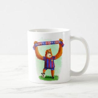 Dad's Birthday Football Orangutan Mugs