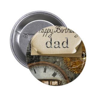 Dad's Birthday Pinback Button
