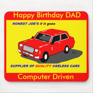 dads car mousepad