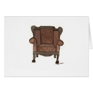 Dads chair card