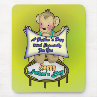 Dads Circus Wish Mouse Pad
