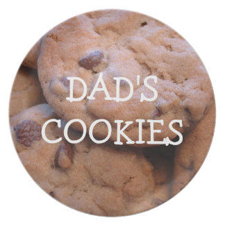 Dads Cookies Dinner Plate
