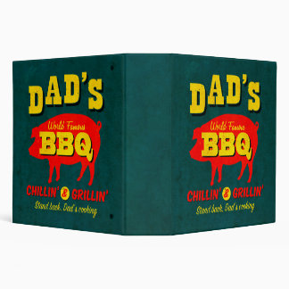 Dad's Cooking 3 Ring Binder