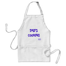 DAD'S COOKING, ADULT APRON
