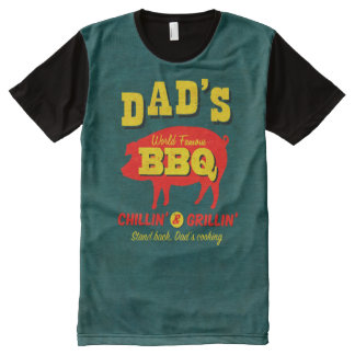 Dad's Cooking All-Over Print Shirt