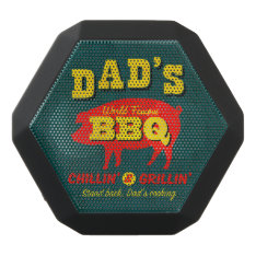 Dad's Cooking Black Bluetooth Speaker at Zazzle