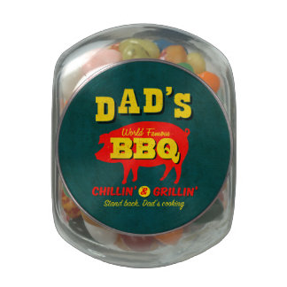 Dad's Cooking Jelly Belly Candy Jar