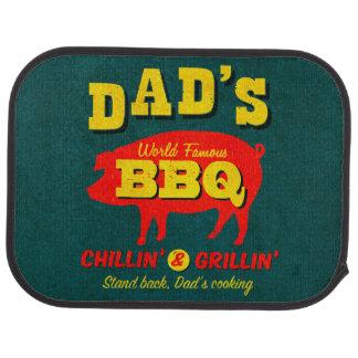 Dad's Cooking Car Floor Mat