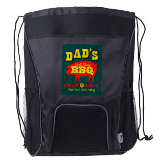 Dad's Cooking Drawstring Backpack