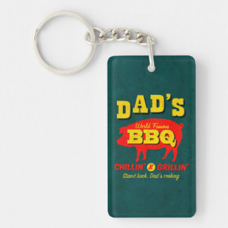 Dad's Cooking Keychain