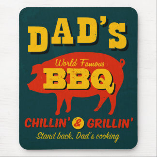 Dad's Cooking Mouse Pads