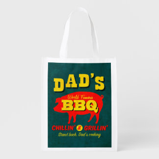 Dad's Cooking Reusable Grocery Bag