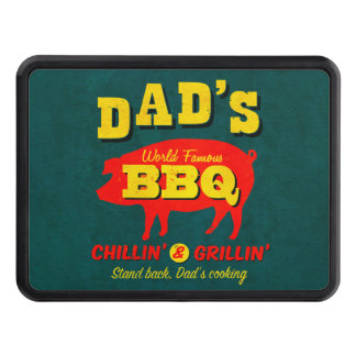 Dad's Cooking Trailer Hitch Cover