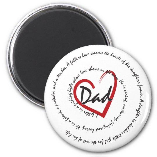 DADS - Dad Love Magnet