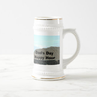 Dads Day Happy Hour Beer Stein by Janz