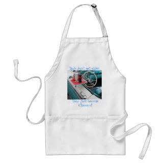 Dads don't get older, they just become Classics! c Adult Apron