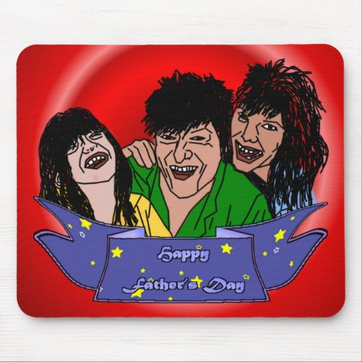 Dads Family Mouse Pads