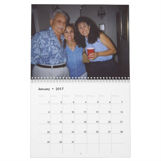 Dad's Fathers Day Calendar '07