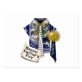 Dads Favorite Earth Shirt For Father's Day Business Cards