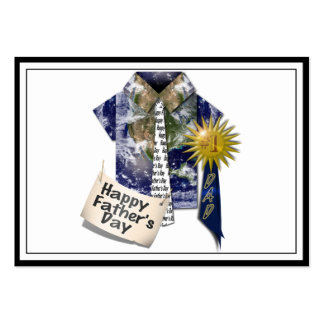 Dads Favorite Earth Shirt For Father's Day Business Card