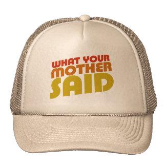 Dads favorite saying mesh hats
