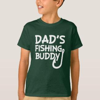 Dad's Fishing Buddy funny boys shirt