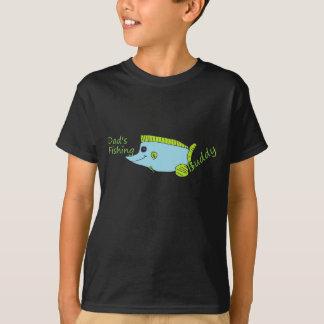 Dad's Fishing Buddy Kids Shirt