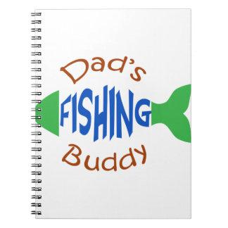 Dads Fishing Buddy Notebook