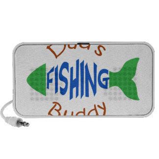Dads Fishing Buddy Portable Speaker