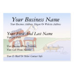 Dad's Fishing Shack Business Card