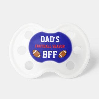 Dad's Football Season BFF Buffalo Pacifier
