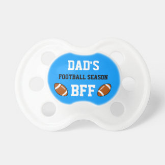 Dad's Football Season BFF Carolina Pacifier