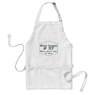 Dad's funny advice t-shirts and gifts for him. apron