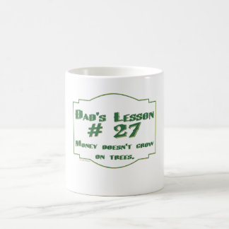 Dad's funny advice t-shirts and gifts for him. coffee mug