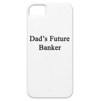 Dad's Future Banker iPhone 5 Cases