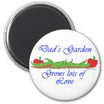 Dad's Garden Magnets