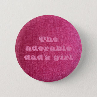 dad's girl pink pin