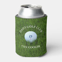Dad's Golf Club Green Can Cooler