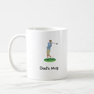 Dad's Golfer Mug