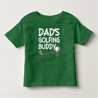 Dad's Golfing Buddy boys shirt
