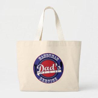 Dad's Handyman Service Tote Bag