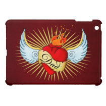 Dad's Heart Case For The iPad Mini