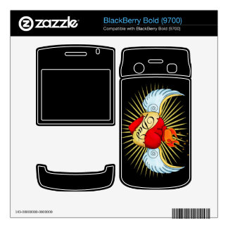 Dad's Heart BlackBerry Bold Decal
