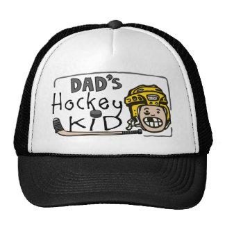Dad's Hockey Kid Mesh Hat