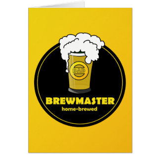 Dad's Home Brew Fathers Day Card