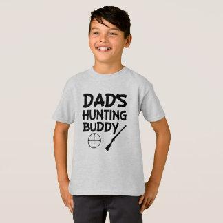 Dad's hunting buddy funny boys shirt