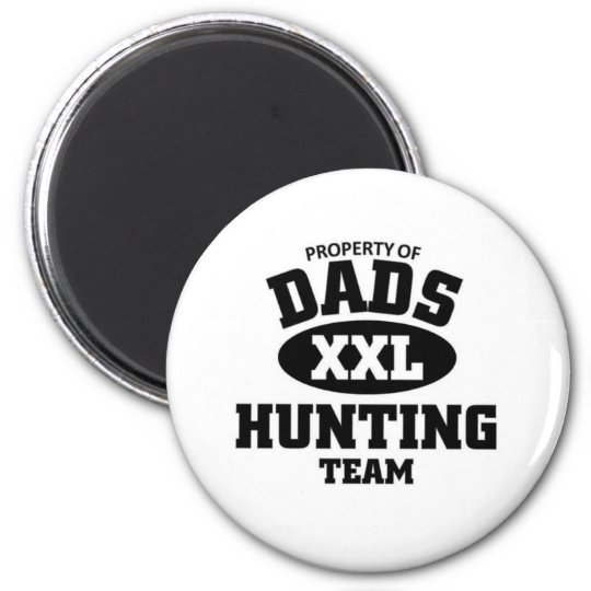 Dads hunting team magnet