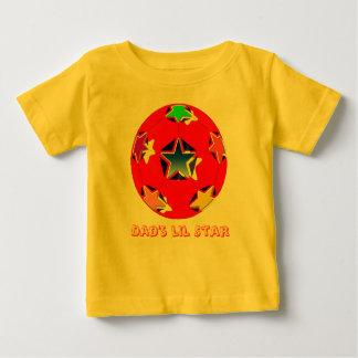 Dad's Lil Star Kids Ringer T-Shirt